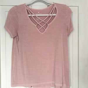 Mauve Pink T-shirt